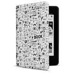 Etui dla czytników e-book Connect IT Doodle pro Amazon Kindle Paperwhite 4 (2018) (CEB-1043-WH) białe