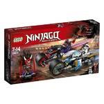 Zestawy LEGO® NINJAGO™ 70639 Pouliční závod Hadího jaguáru