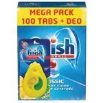 Tablety do myčky FINISH Classic Regular 100ks + DEO Lemon