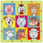 Puzzle Bino ze zwierzątkami