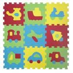 Piankowe puzzle Ludi - piankowe 9  szt.