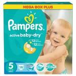 Plienky Pampers Active Baby-dry vel.5 Junior, 126ks