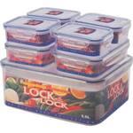 Pojemnik na żywność Lock&lock HPL836SC 7 ks