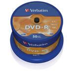 Dysk Verbatim DVD-R 4,7GB, 16x, 50 szt. (43548)