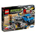 Stavebnica Lego® Speed Champions 75875 Ford F-150 Raptor a Ford Model A Hot Ro