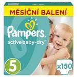 Pieluszki Pampers Active Baby Monthy Box S5 150 szt.