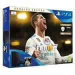 Konsola do gier Sony PlayStation 4 SLIM 1TB + FIFA18 Ronaldo Edition + PS Plus 14 dní (PS719916765) Czarna
