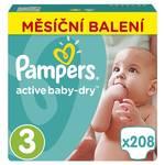 Pieluszki Pampers Active Baby Monthy Box S3 208 szt.