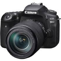 Digitální fotoaparát Canon EOS 90D + 18-135 IS USM černý