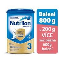 Kojenecké mléko Nutrilon 3 Pronutra, 800g - v nabídce také výhodné 6ks balení za cenu 299,-/1ks
