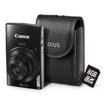 Aparat cyfrowy Canon IXUS 182 + etui + 8GB SD karta Czarny