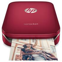 Fototiskárna HP Sprocket Photo Printer (Z3Z93A#633) červená