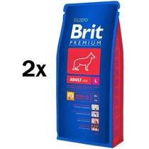 Granule Brit Premium Dog Adult L 2 x 15 kg