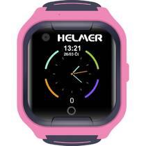 Chytré hodinky Helmer LK709 dětské s GPS lokátorem (Helmer LK 709 P) růžový