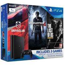 Herní konzole Sony PlayStation 4 SLIM 1TB Gamer pack (PS719806868) černá