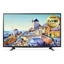 Telewizor LG 43UH603V czarny Czarna