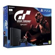 Herní konzole Sony PlayStation 4 SLIM 1TB + Gran Turismo Sport + PS Plus 14 dní (PS719907268) černá