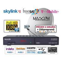 Satelitní komplet Mascom MC2350/80MBL černý