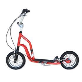 """Master Ride 12"""" červená + Reflexní sada 2 SportTeam (pásek, přívěsek, samolepky) - zelené v hodnotě 58 Kč"""