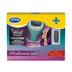 Scholl Wet & Dry + náhradní hlavice Extra drsná 2 ks