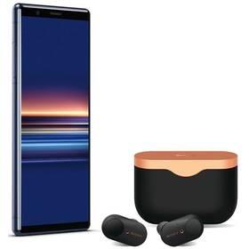Sony Xperia 5 + sluchátka Sony WF-1000XM3 (1320-4791) modrý