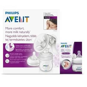 Philips AVENT Natural se zásobníkem 125ml PP + mini láhev + Doprava zdarma