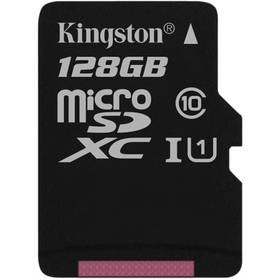 Kingston MicroSDXC 128GB UHS-I U1 (45R/10W) (SDC10G2/128GBSP)