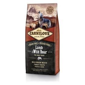 Brit Carnilove Lamb & Wild Boar for Adult 12 kg + Doprava zdarma