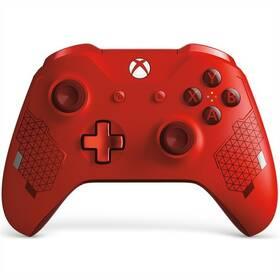 Microsoft Xbox One Wireless - speciální edice Sport Red (WL3-00126)
