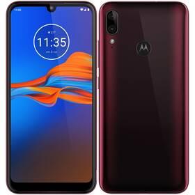 Motorola E6 Plus 64 GB Dual SIM (MOTOE6PLUSCRAN) červený