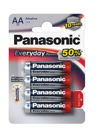Panasonic AA, LR6, Everyday, blistr 4ks (LR6EPS/4BP)