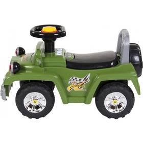 Sun Baby Jeep 4x4 ADVANCER zelené + Doprava zdarma