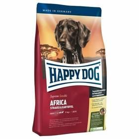 HAPPY DOG AFRICA Grainfree 12,5 kg + Hračka Rogz RFO 23cm - modrá v hodnotě 269 KčKonzerva HAPPY DOG Wild Pur - 100% maso zvěřiny 200 g (zdarma) + Doprava zdarma