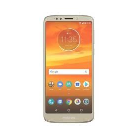 Motorola E5 Plus Dual SIM (PABA0019RO) zlatý Software F-Secure SAFE, 3 zařízení / 6 měsíců (zdarma)Powerbank Lenovo MP1060 - 10000 mAh - šedá (zdarma)