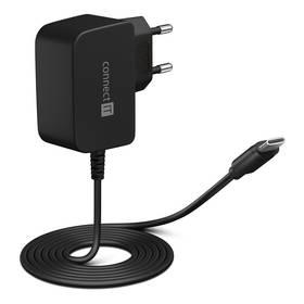 Connect IT inWallz Snake USB-C, 2,4A (CWC-1070-BK) čierna