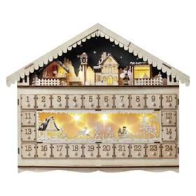 EMOS adventní kalendář, 19x40cm, 2x AA, vnitřní, teplá bílá (1534231500)