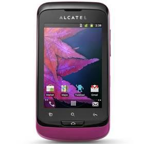 Mobilní telefon ALCATEL One Touch 918 DUAL (918D-2FALCZ1-JS40) fialový