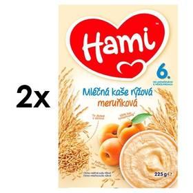 Hami rýžová meruňková 4M, 225g x 2ks
