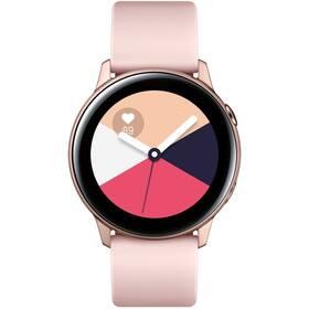 Samsung Galaxy Watch Active SK (SM-R500NZDAXSK) růžová/zlatá (vrácené zboží 8800450266)