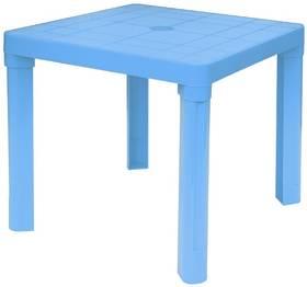 Dětský stoleček IPAE - odnímatelné nohy plast/modrý