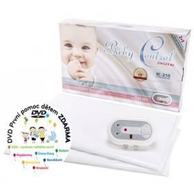 Baby Control BC-210, dvě senzorové podložky bílá + Doprava zdarma