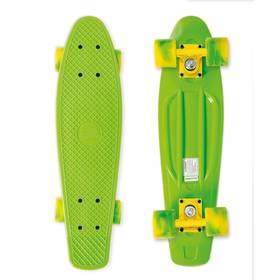 """Street Surfing Beach Board California Dream 22,5"""" x 6,3"""" zelený + Reflexní sada 2 SportTeam (pásek, přívěsek, samolepky) - zelené v hodnotě 58 Kč + Doprava zdarma"""