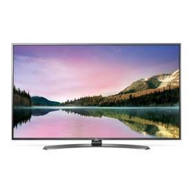 Televízor LG 43UH661V strieborná/Titanium