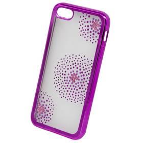 Beeyo Flower Dots pro Apple iPhone 5/5s/SE (BEAAPIP5SEFDPI) růžový