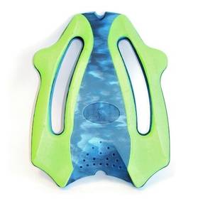 Plavecká deska Aqua Sphere Ergo Board, modrá/zelená + Doprava zdarma