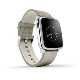 Pebble Time Steel Smartwatch (51100023) stříbrná + Doprava zdarma