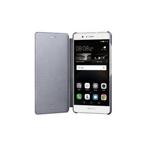 Pouzdro na mobil flipové Huawei P9 Lite Flip Cover (51991527) šedé (poškozený obal 3000007425)