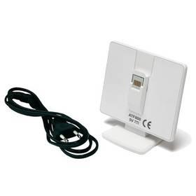 Nabíjecí stojan (konzole) Honeywell ATF800 pro řídící jednotku EvoTouch WiFi (stojan) (ATF800) bílá + Doprava zdarma