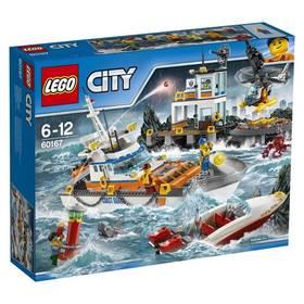 LEGO® CITY® 60167 Pobřežní hlídka Základna pobřežní hlídky