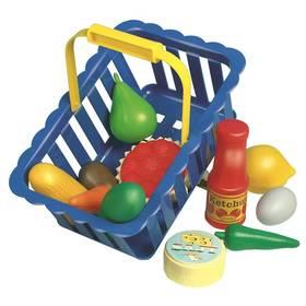 Nákupní košík Alltoys plný ovoce a zeleniny